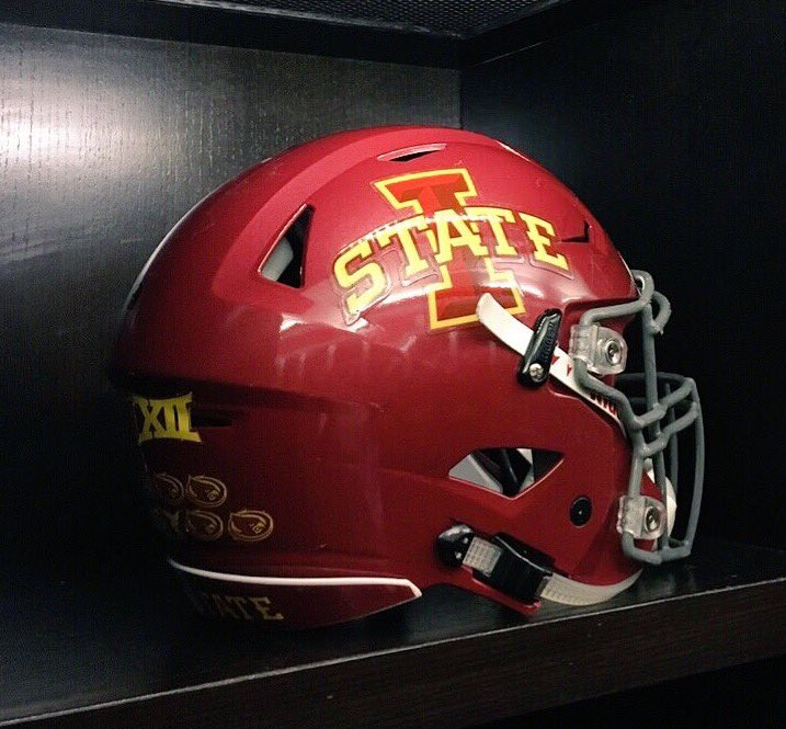 Helmet Stickers Cyclonefanatic The Internet S Most Popular Site For Fans Of The Iowa State Cyclones