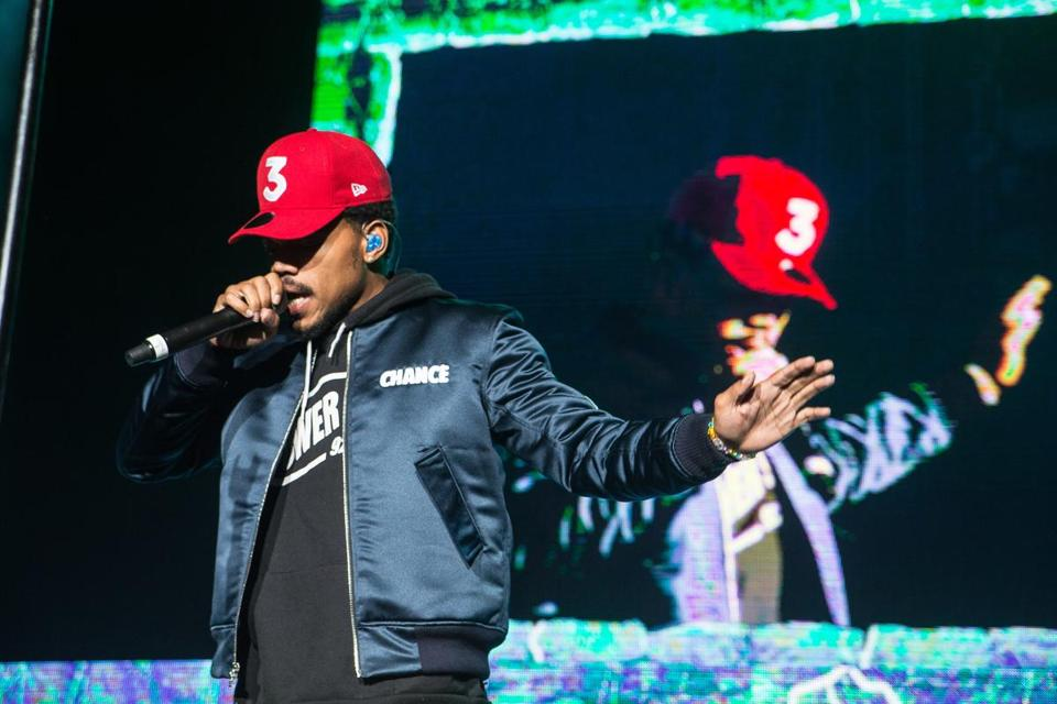 Review: Chance the Rapper put on a thrilling, energetic show at Blue Hills Bank Pavilion