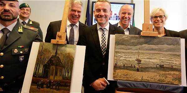 Ritrovati due Van Gogh rubati, nella casa del Boss della Camorra.