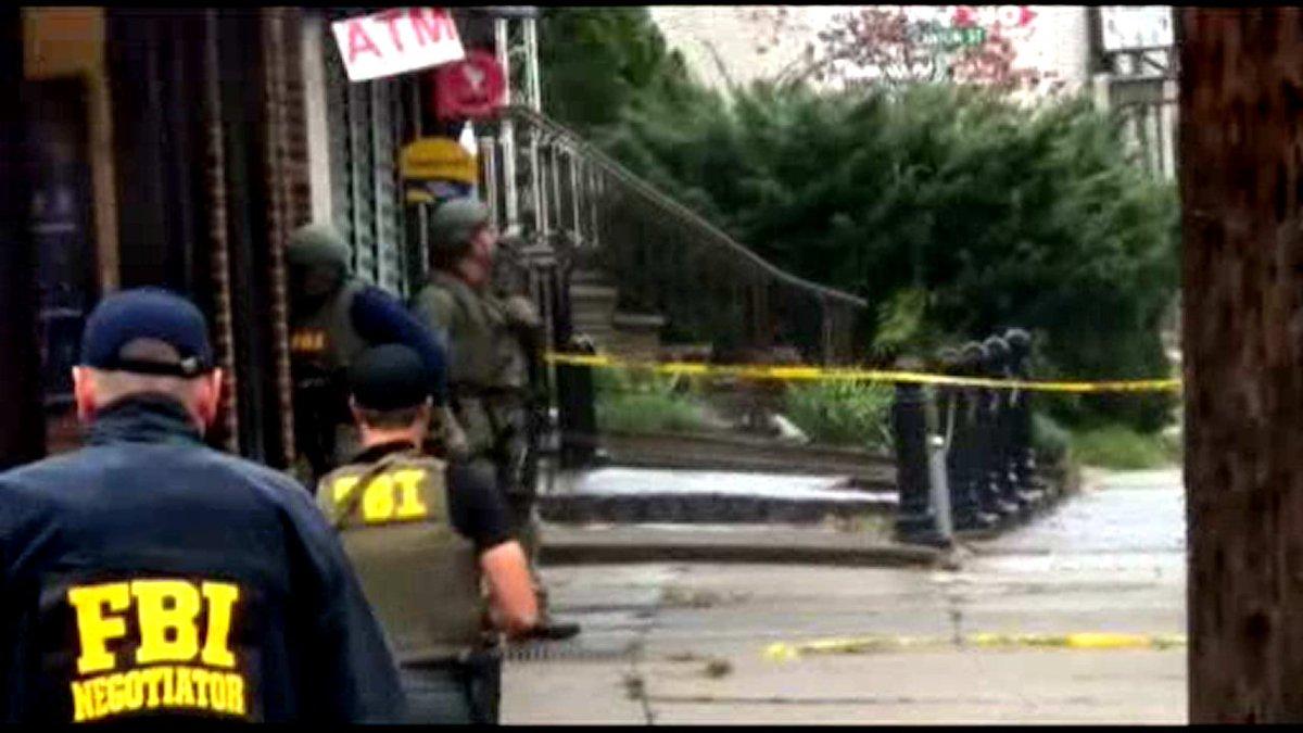 FBI raids home of alleged bombing suspect Ahmad Khan Rahami