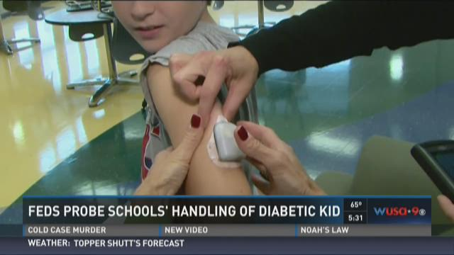 Feds probe schools' handling of diabetic kid