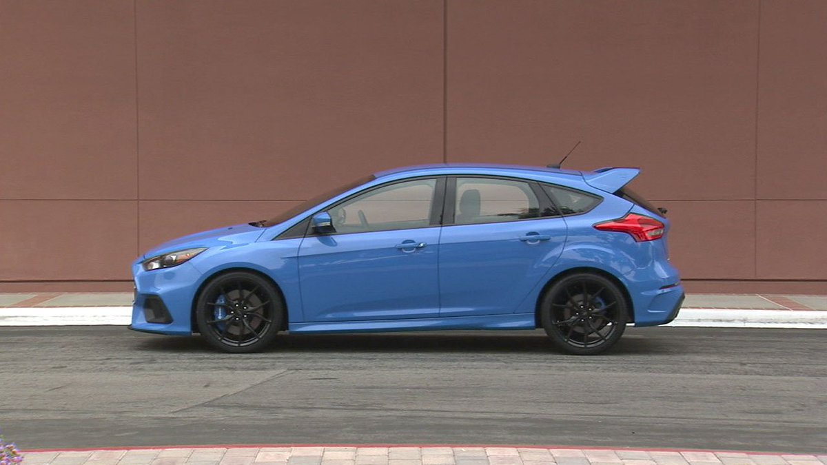 Ford releases European-built 2017 Focus RS