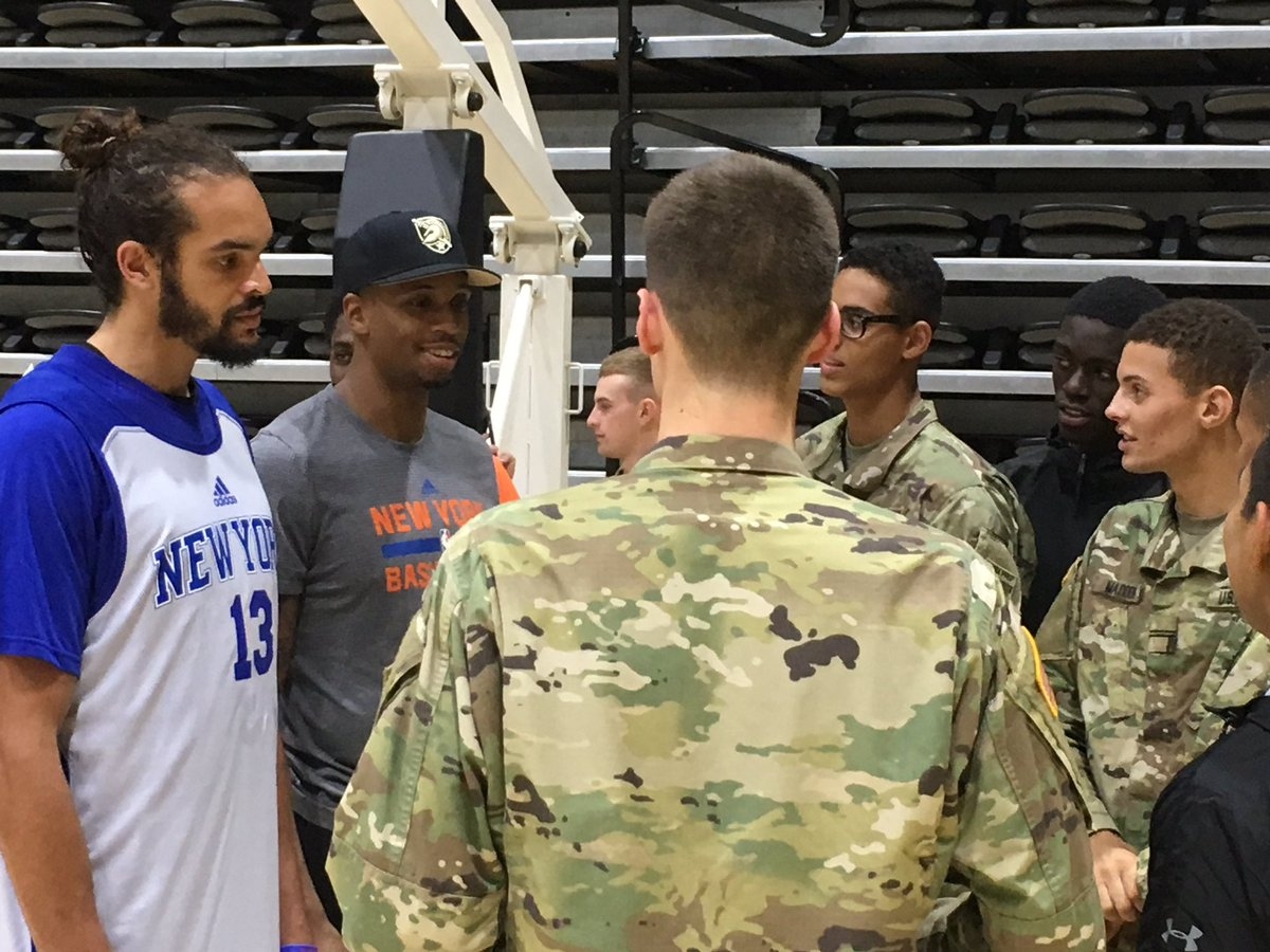 Why One NBA Star Skipped a Dinner With Army Cadets