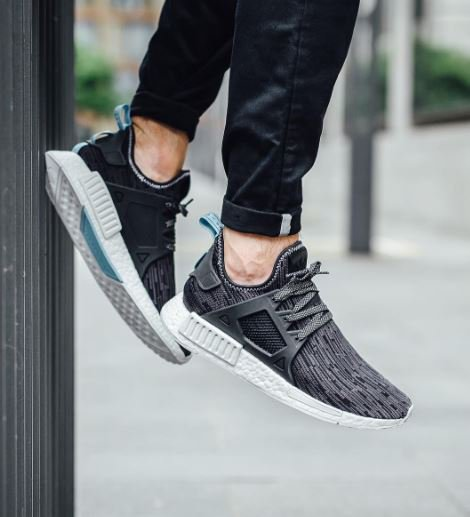 Adidas NMD R1 PK Winter Wool Black Glitch 11.5