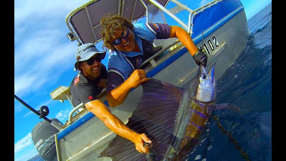 Exmouth, Aus - Come Get Some went 1-2 on Sailfish.