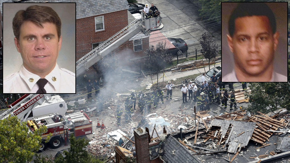 Firefighters to suspect in NYC explosion that killed FDNY battalion chief: