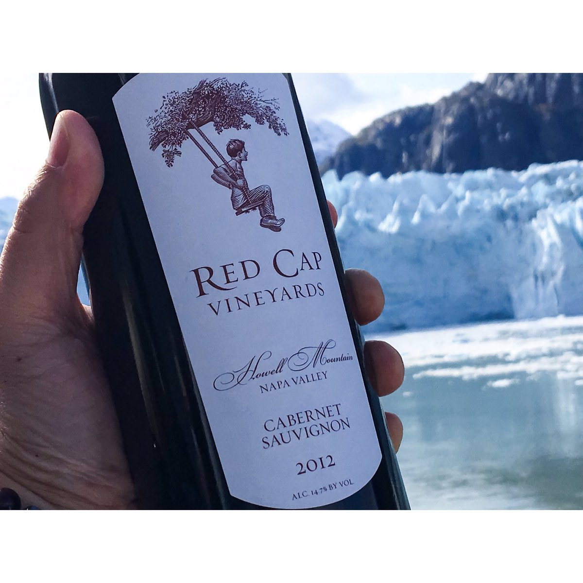 Where was the most interesting place you ever had a btl of wine?? Ours was right here in #Alaska. @redcapvineyards #rkmwinepics 09-27-16 https://t.co/Zae97JILEd