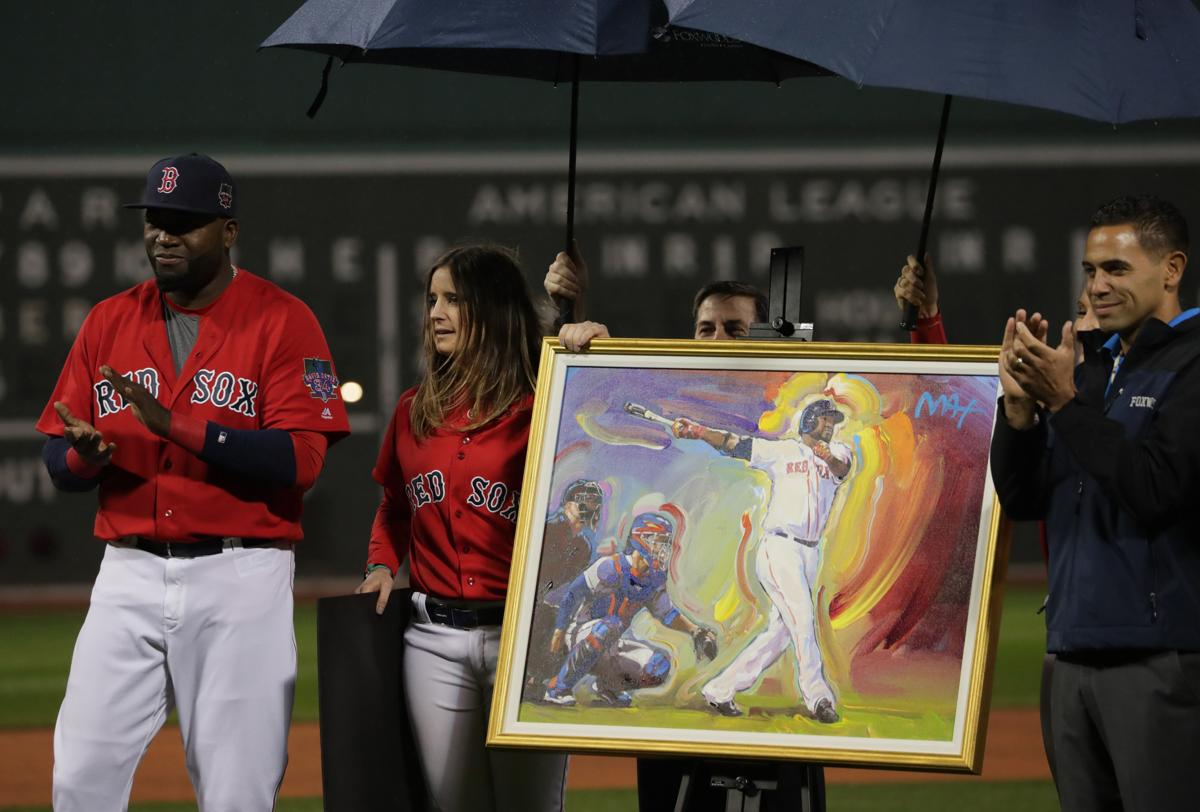 David Ortiz honored for charity work in pregame ceremony RedSox