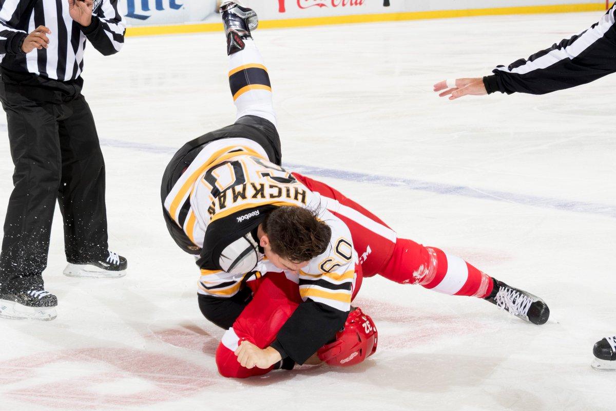 Final score: Bruins 2, Red Wings 1