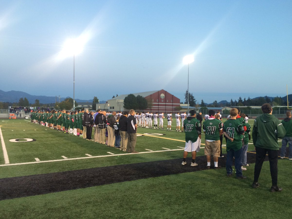 Mount Vernon HS holds moment of silence in honor of their 16 yr old classmate killed in the CascadeMallShooting