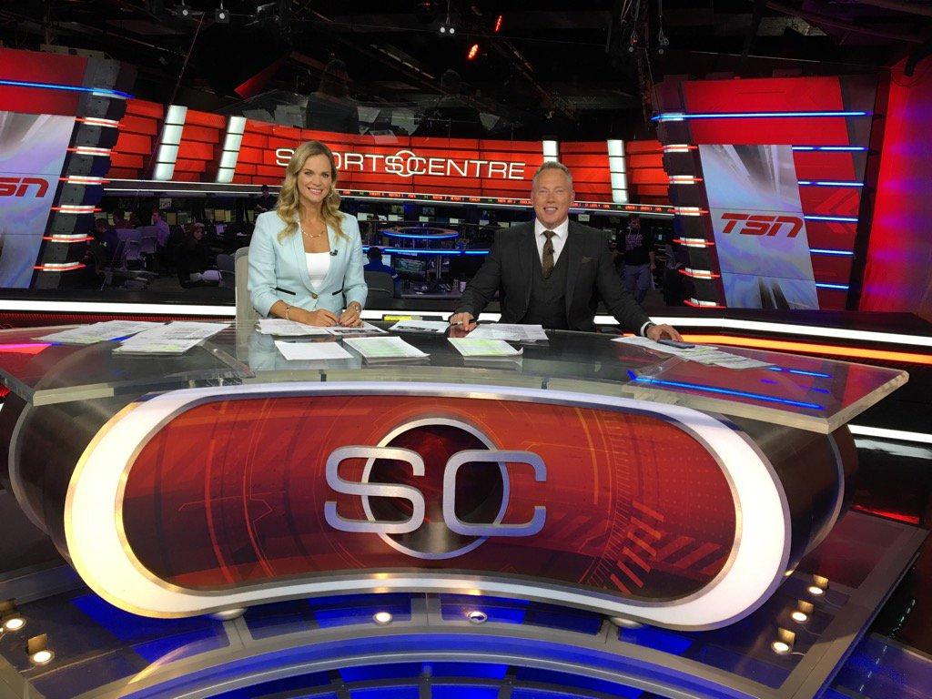 Jennifer Hedger with Darren Dutchyshen