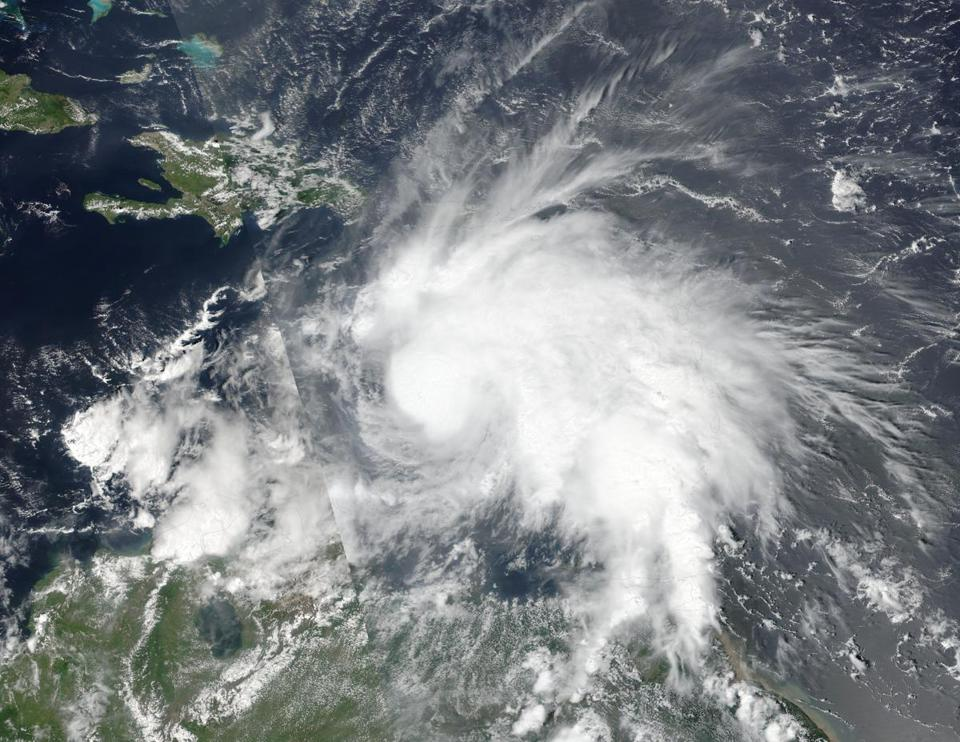 Matthew strengthens into Category 5 hurricane in Caribbean