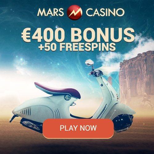 Mars casino free spins
