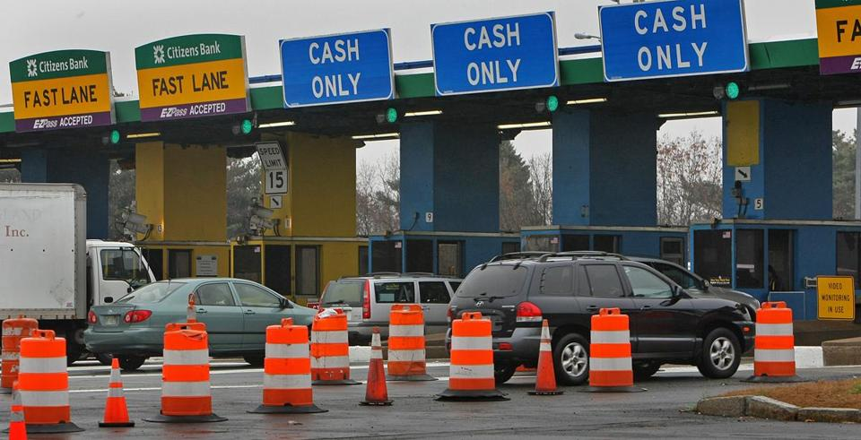 Shed a tear: The Mass. Turnpike's toll plazas will begin to fall later this month