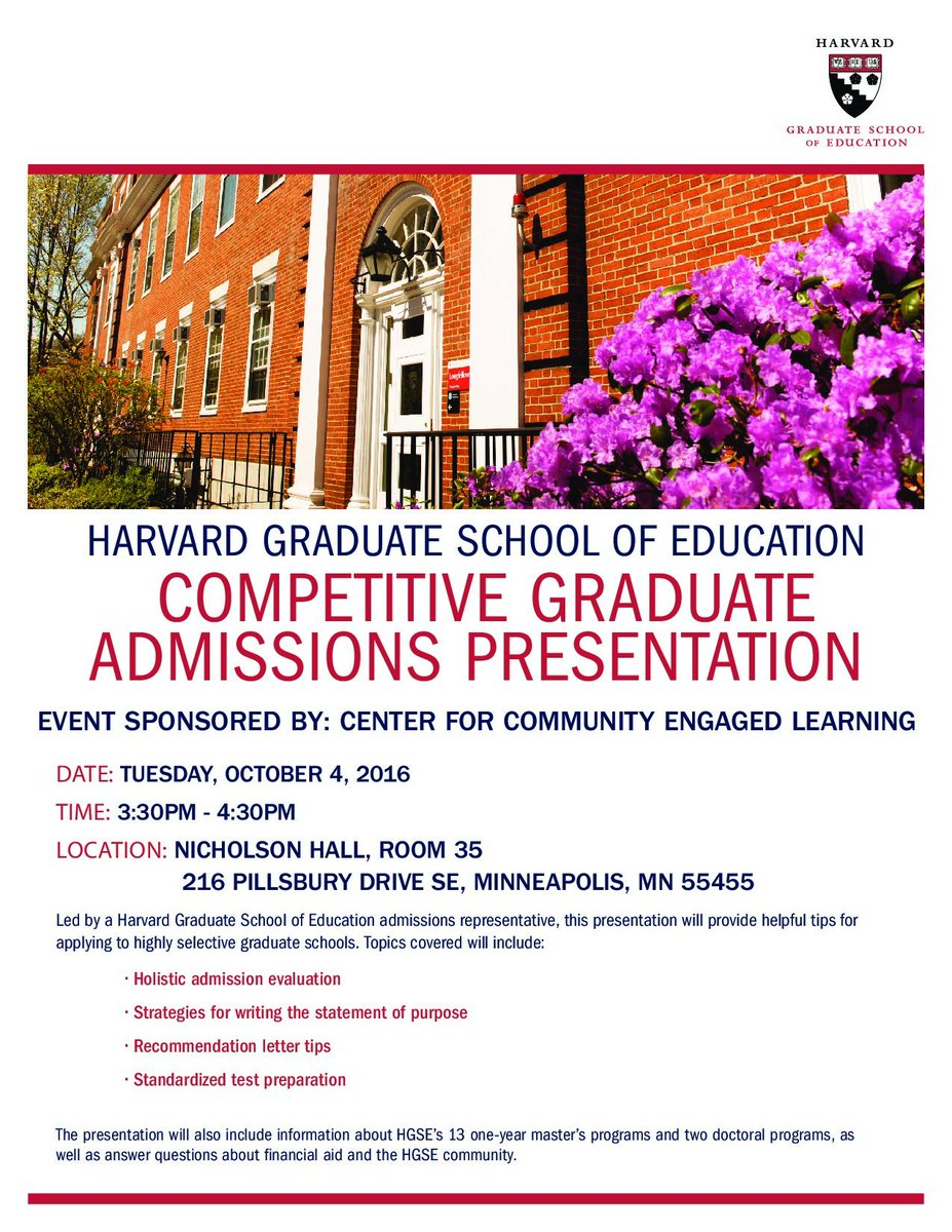 ccel on twitter join us for a competitive graduate admissions