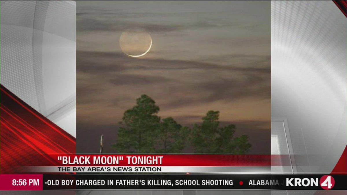 Rare 'black moon' rises over Western Hemisphere Friday night.
