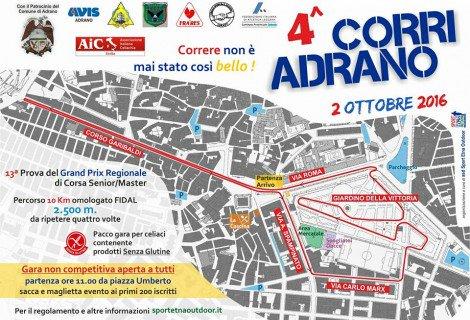 """Podismo, al via la """"Corri Adrano"""": oltre 400 atleti in gara - https://t.co/33GZWNhKSq #blogsicilianotizie"""