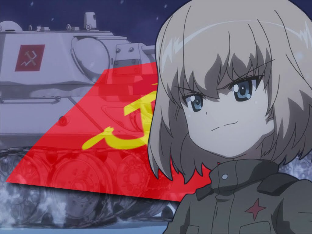 Anime Girl Turns Weebs Into Communists