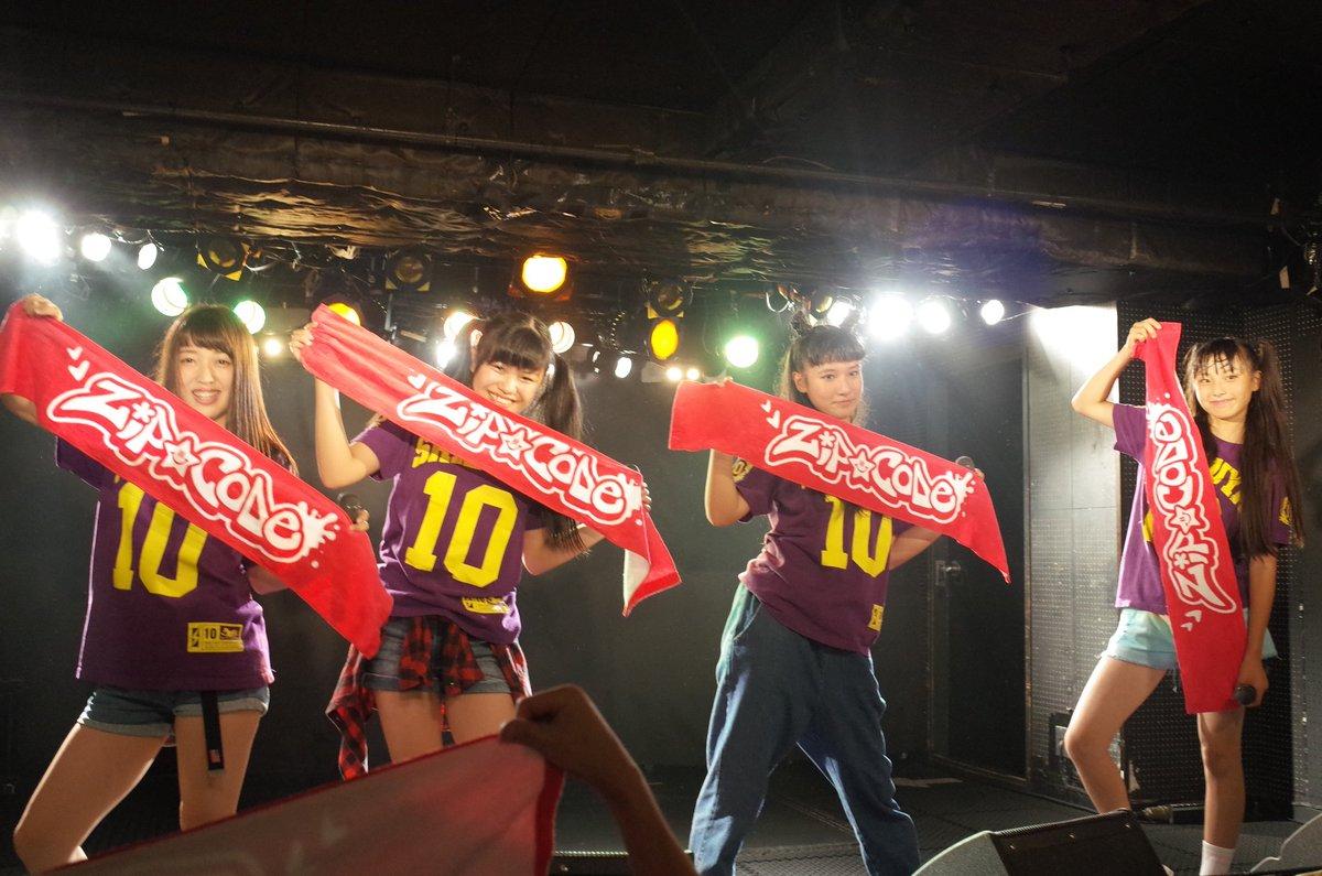 216/10/1 渋谷club crawl ZiP☆CODE  今日はやや休みの4人。 #ジップコード https://t.co/5rW7vDVW3U