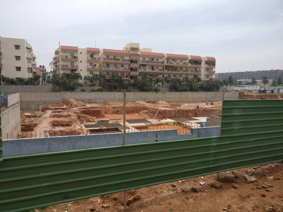 When I say apartment under construction, I meant  they have started it #EdenHeightsLaunch @HabitatVentures https://t.co/pgrSUDSjsB