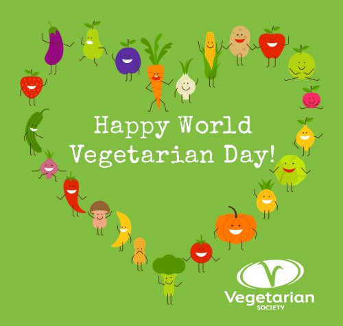 Happy  #worldvegetarianday - keep a look out for our brand new Going Veggie guide launched today :-) https://t.co/4i3DdWDkO9