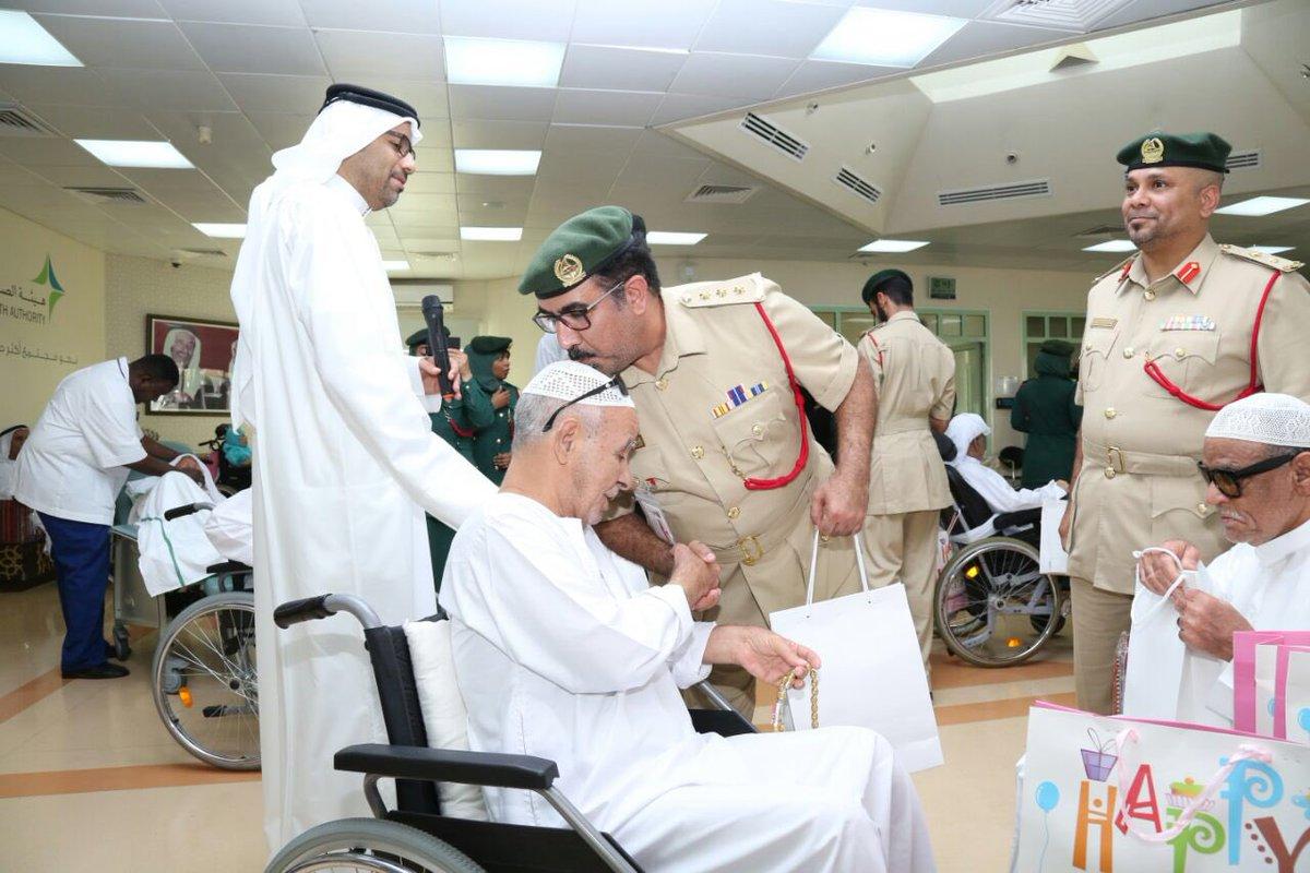 شرطة دبي تحتفل بـيوم المسن العالمي  شرطة دبي تحتفل بـيوم المسن العالمي