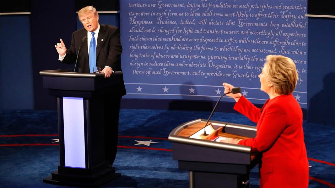 Debate Commission confirms 'issues' with Donald Trump's microphone inside debate hall.