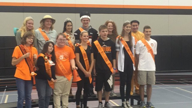 Wisconsin students with Down Syndrome named homecoming king and queen>>