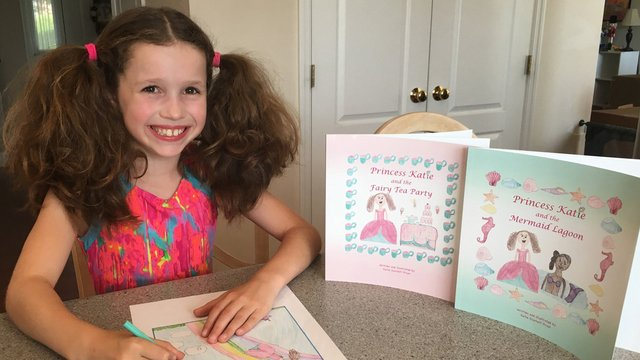 An 8-year-old author has 2 books on Amazon>>