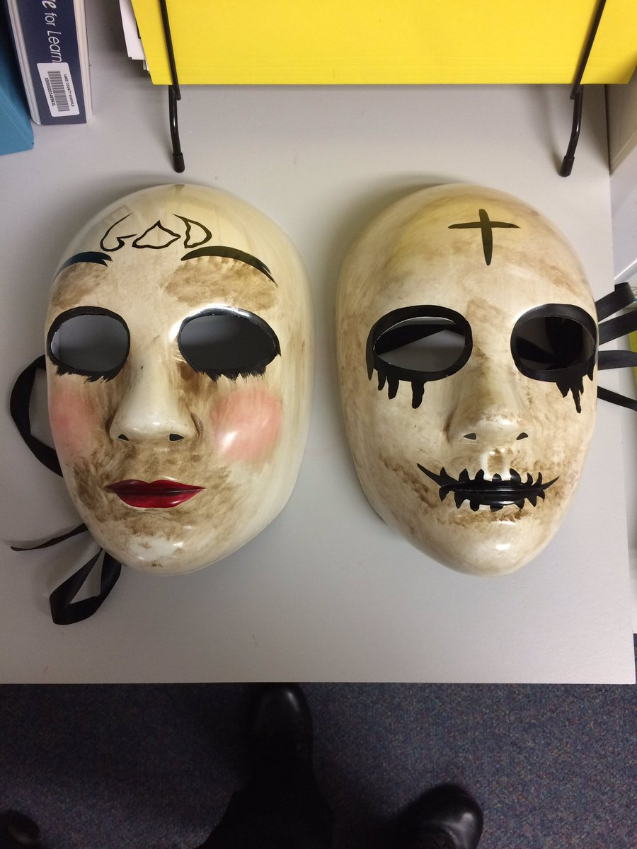 Florida teens arrested for wearing Purge masks, scaring students>>