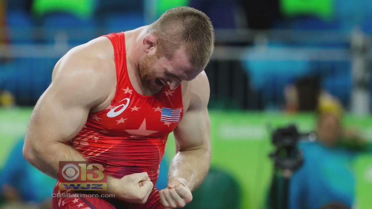 Md. wrestler Kyle Snyder vows to compete in 5 Olympic Games