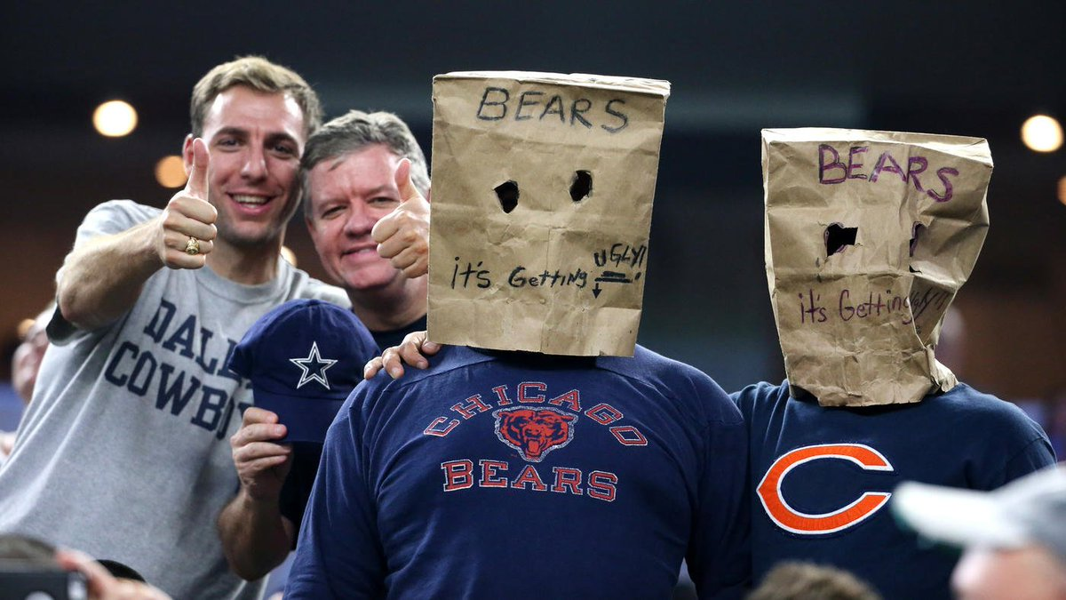 The Bears have fallen, and they can't seem to get up