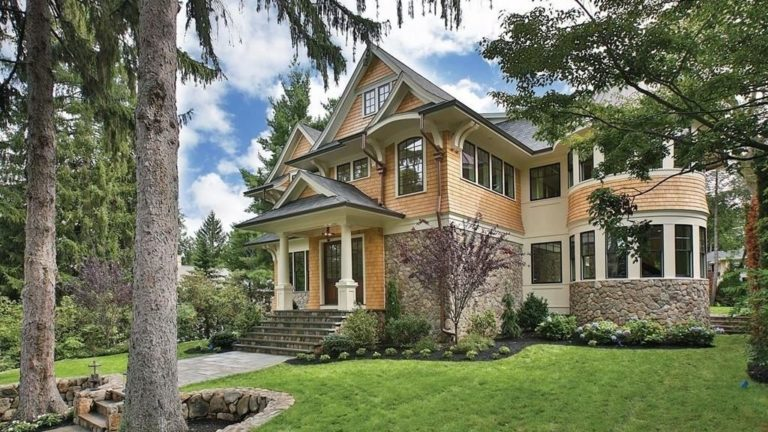 Open house: New construction Newton estate with a historic feel