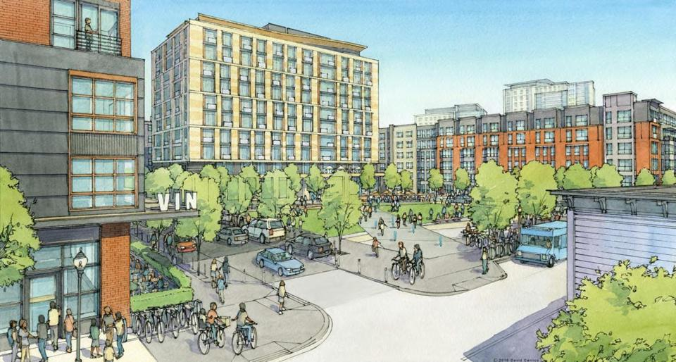 A $1 billion, 3,200-unit development has been proposed for Charlestown