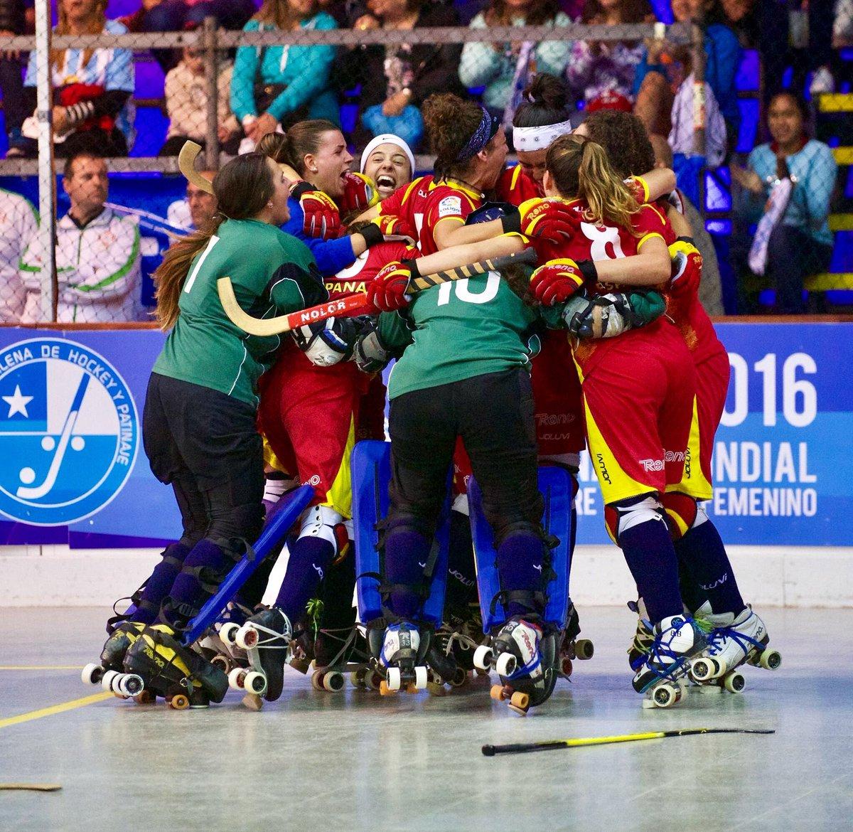 Las españolas celebran su pase a la final: Agencias.