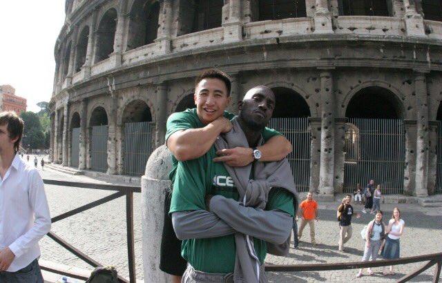 In the Globe: The enduring bond between Kevin Garnett & Celtics strength coach Bryan Doo