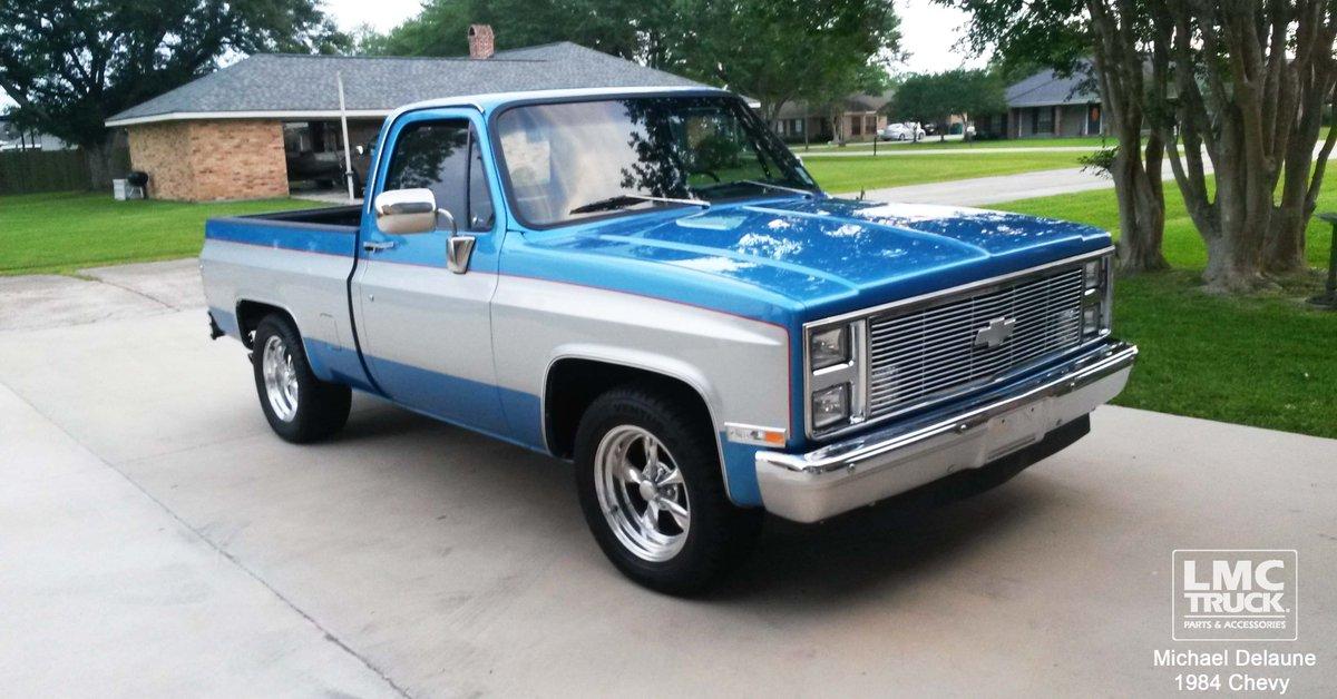 Parts Accessories For Chevrolet Trucks Suvs Lmc Truck >> Lmc Truck On Twitter Michael Delaune S 1984 Chevy C10 Silverado