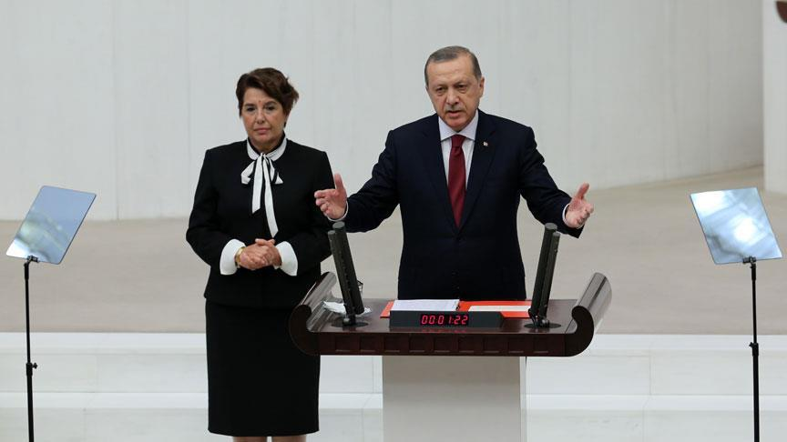 Cumhurbaşkanı Erdoğan Meclis'teki yeni yasama yılında konuştu