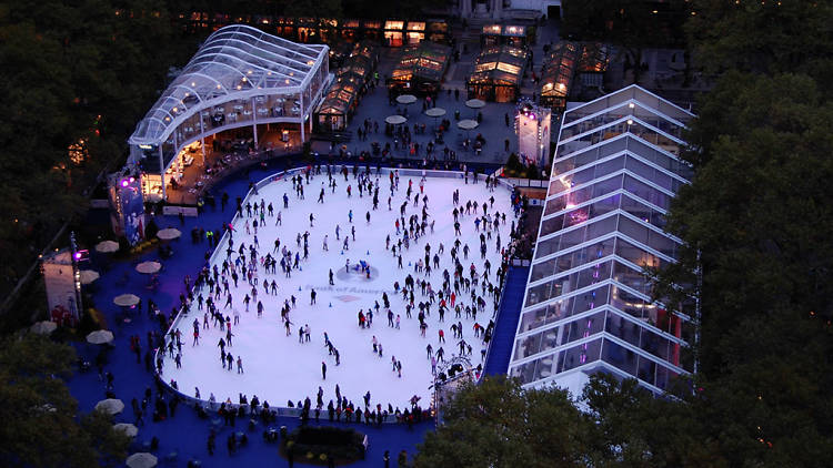 Everything to know about this year's Bryant Park Winter Village: @bryantparknyc