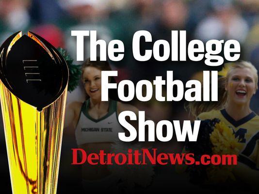 Get ready for UM vs. Wisconsin watch The College Football Show with @bobwojnowski @JohnNiyo
