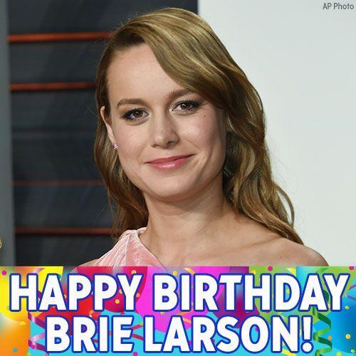 Happy Birthday to Oscar-winning actress @brielarson!