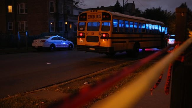 School bus driver among 19 shot across Chicago; 2 die