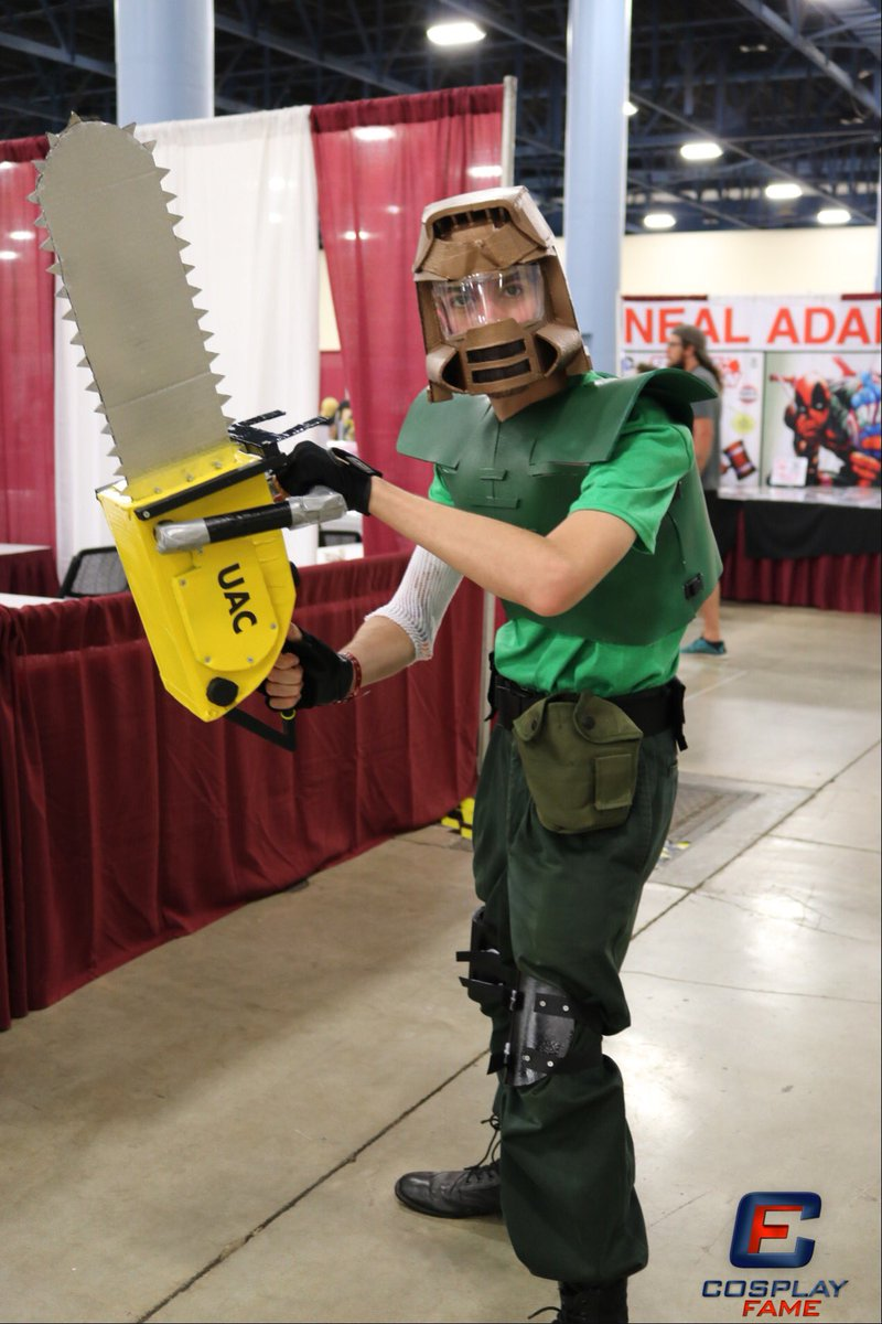 Cosplayfame On Twitter Ready To Rip Into Some Demons Doom