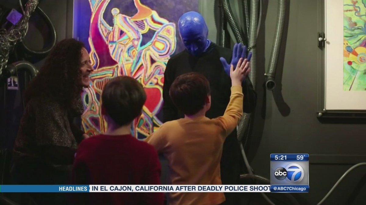 Blue Man group holding sensory-free show to raise awareness of autism