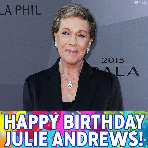 Practically perfect: It's Julie Andrews' birthday. Happy Birthday!