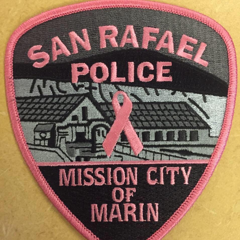 Our Officers will be wearing this patch on their uniforms for BreastCancerAwarenessMonth