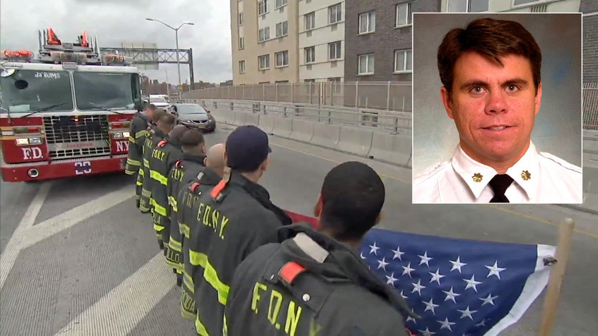 Thousands mourn fire chief killed in Bronx explosion