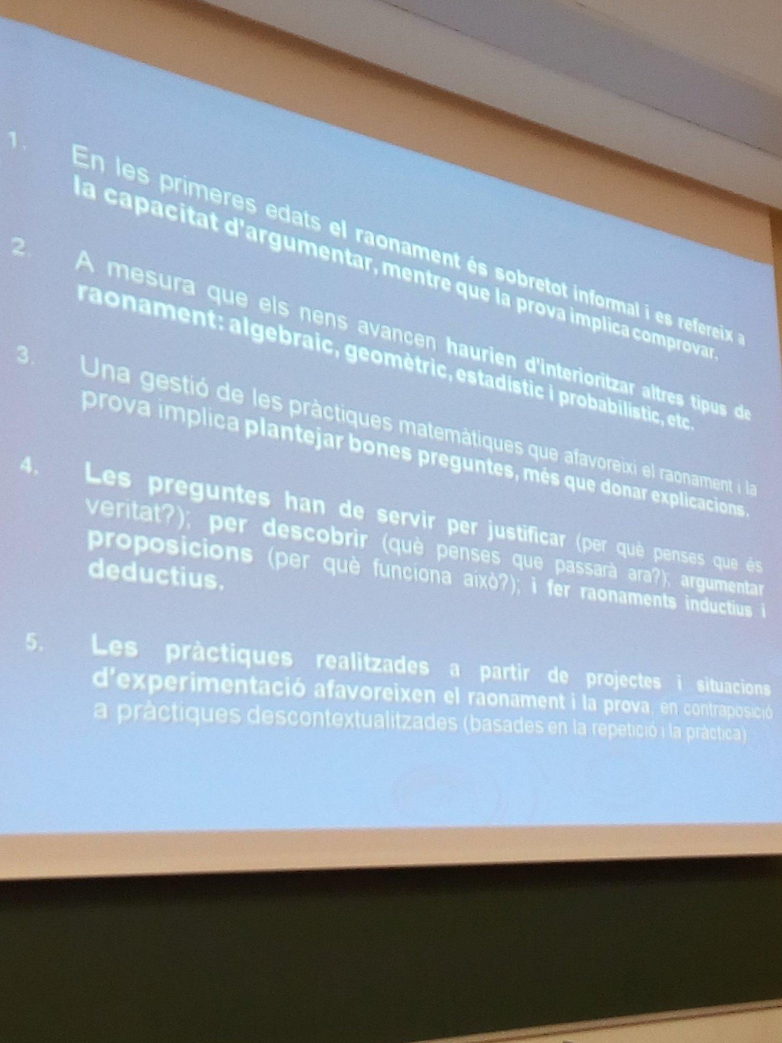 Plantear buenas preguntas para provocar razonamiento matemático en el aula #XIII_jem https://t.co/UaSd2zfeGU