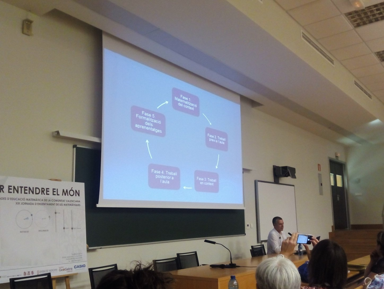 Modelo para organizar la enseñanza basada en contextos reales @AngelAlsinaP @SEMCV #XIII_jem https://t.co/cbEltNZaP1