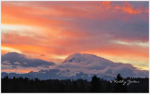 A lovely Saturday sunrise in Graham. Thanks, Kathy Yates!Share your photos with us >>